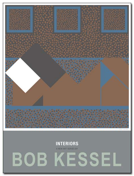 interiors poster iPad by bobkessel