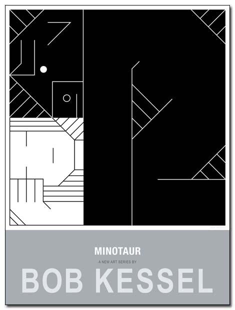 minotaur poster dream by bobkessel