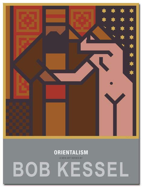 orientalism poster slave girl by bobkessel