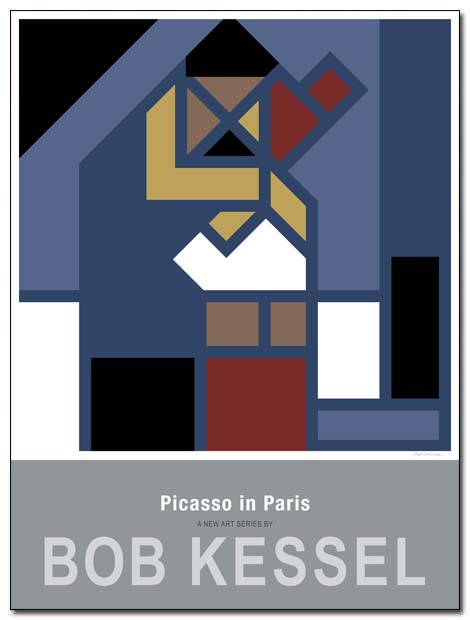 picassoinparis poster attic by bobkessel