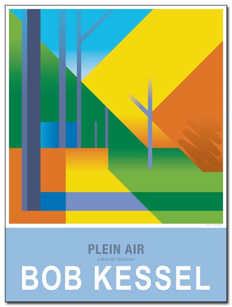 plein air poster path by bobkessel