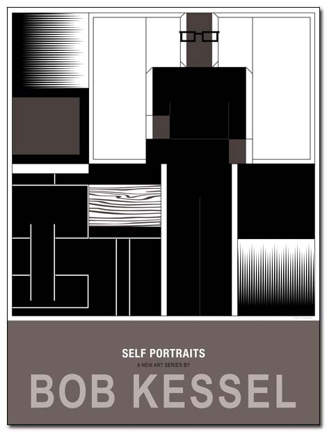 self portraits poster room by bobkessel
