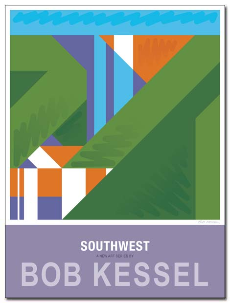 southwest poster cascade by bobkessel