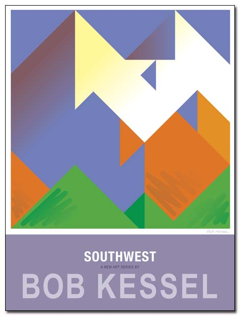 southwest poster sawtooth by bobkessel