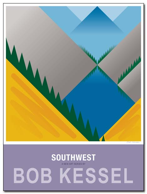 southwest poster tarn by bobkessel