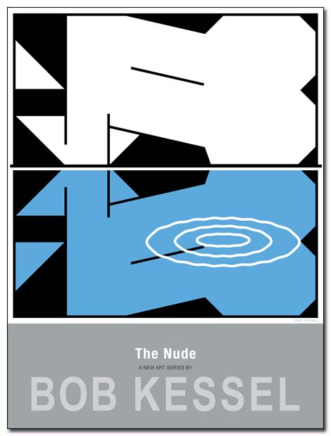 the nude poster reflection by bobkessel
