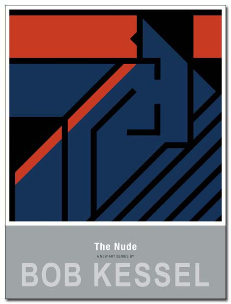 the nude poster sunset by bobkessel