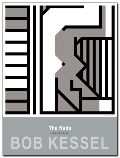 the nude poster upside-down by bobkessel