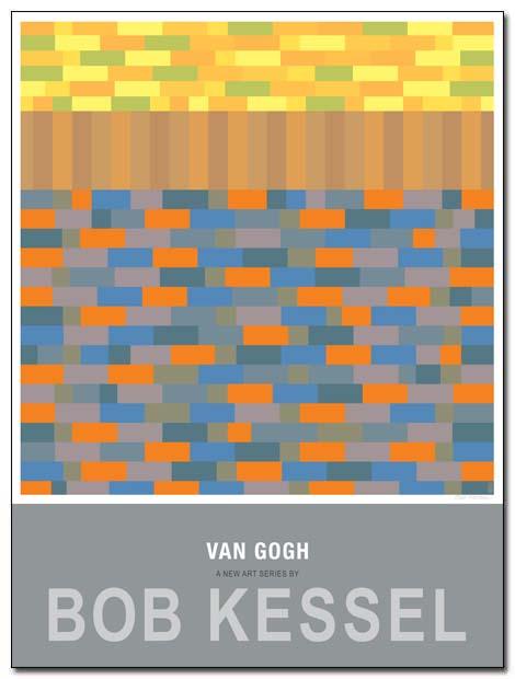 van gogh poster field by bobkessel