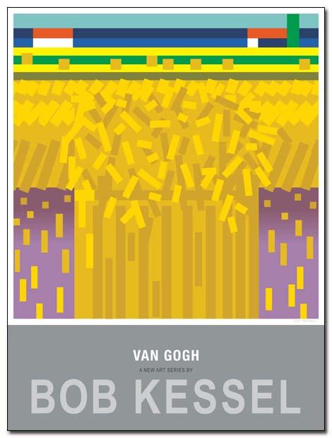 van gogh poster sheaf by bobkessel