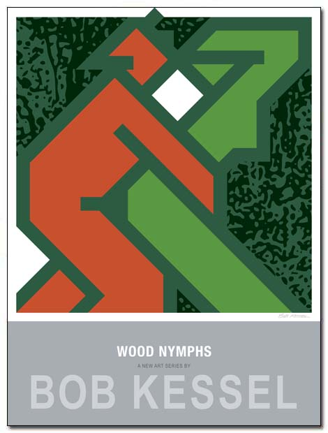 wood nymphs poster pan by bobkessel