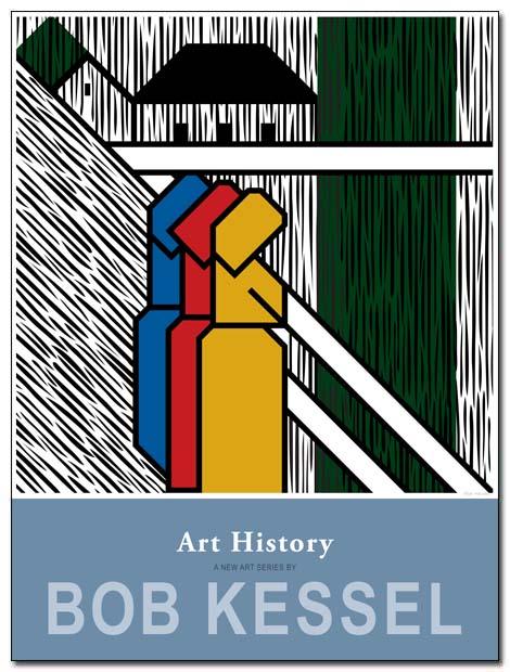 art history poster machen auf Brücke by bobkessel