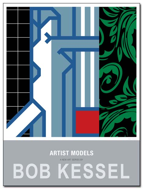 artist models poster curtain call by bobkessel