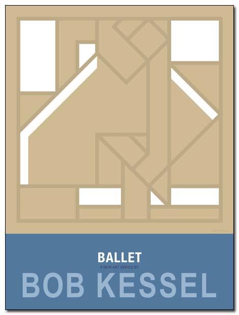ballet poster danseuse by bobkessel