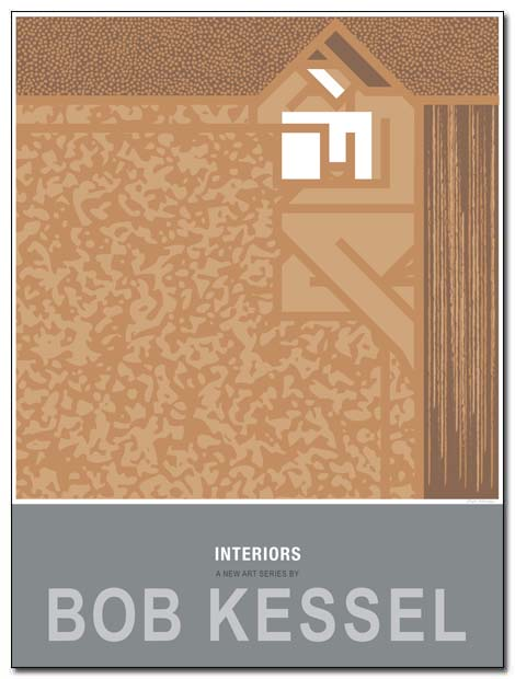interiors poster ipad rug by bobkessel