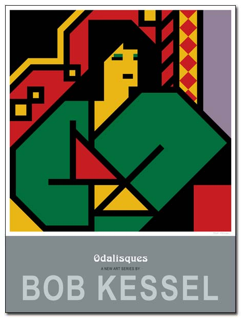 odalisques poster algerian by bobkessel