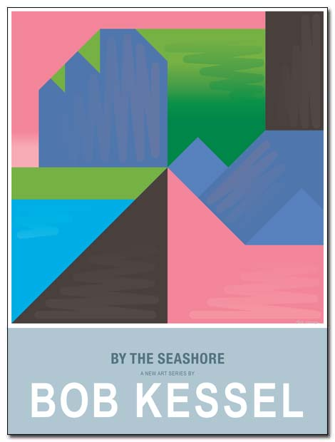by the seashore poster cliffs petit by bobkessel