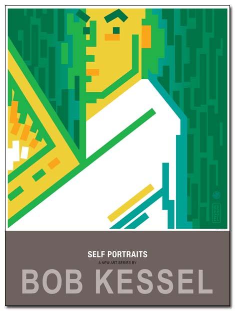 self portraits poster yo soy sauce by bobkessel