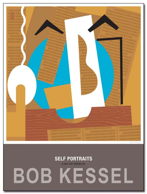 self portraits poster cutout by bobkessel