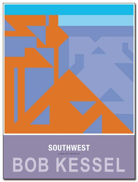 southwest poster canyon by bobkessel