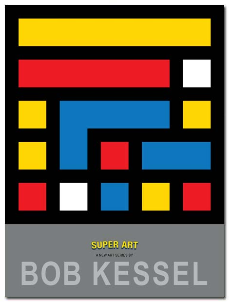super art poster super square by bobkessel