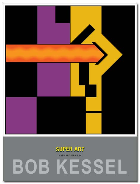 super art poster X-ray vision by bobkessel