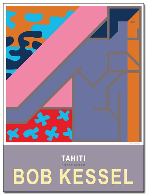 tahiti poster aha moment by bobkessel