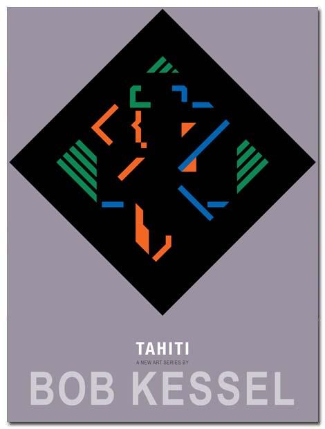 tahiti poster black velvet by bobkessel