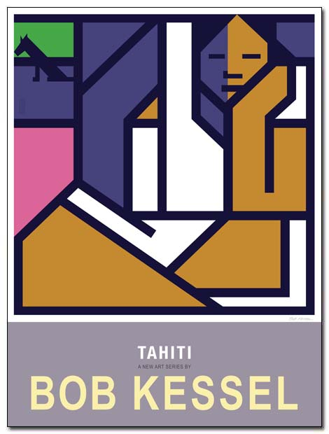 tahiti poster brooding by bobkessel