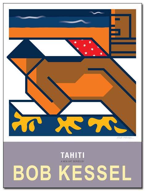 tahiti poster nap by bobkessel