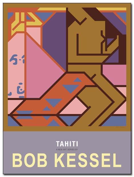 tahiti poster tahitian girl by bobkessel