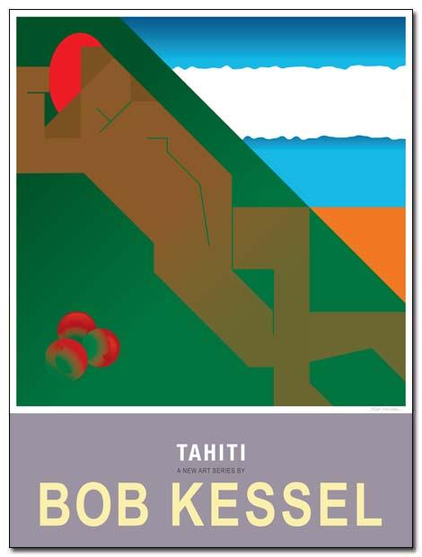 tahiti poster te arii lehine by bobkessel