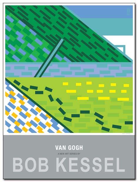 van gogh poster daubing by bobkessel