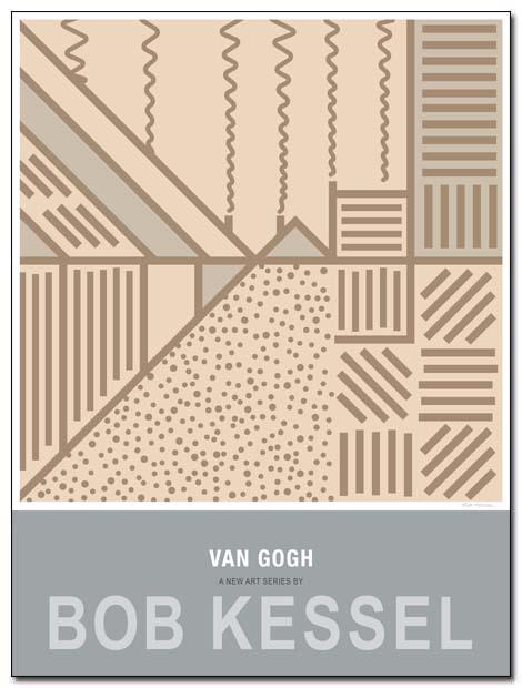 van gogh poster reed pen by bobkessel