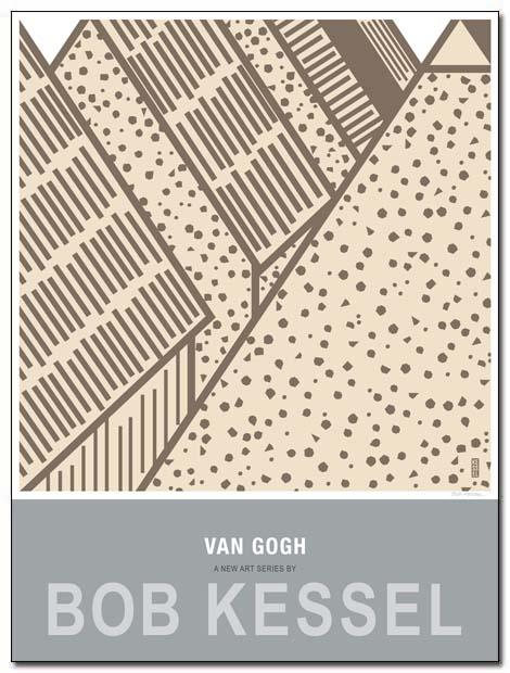 van gogh poster sainte maries by bobkessel