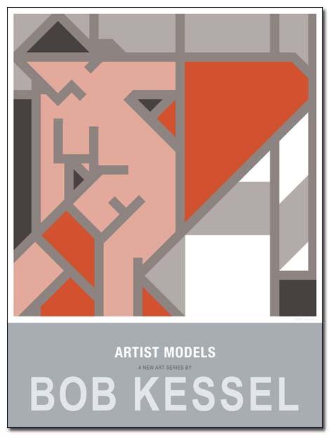 BOB KESSEL ARTIST MODELS POSTERS – BOB KESSEL