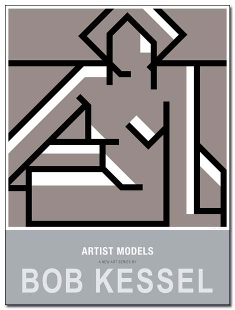 artist models poster nue assist by bobkessel