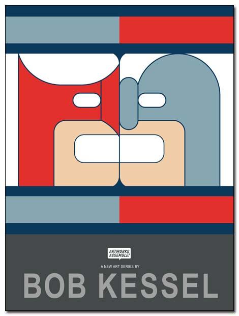 artwork assemble poster hawk dove by bobkessel