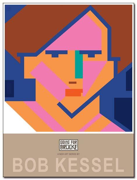 going for bruce poster berlin frau by bobkessel