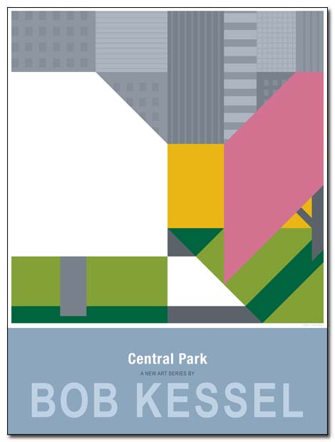 central park poster path spring by bobkessel