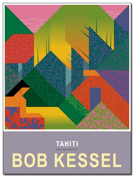tahiti poster house by bobkessel