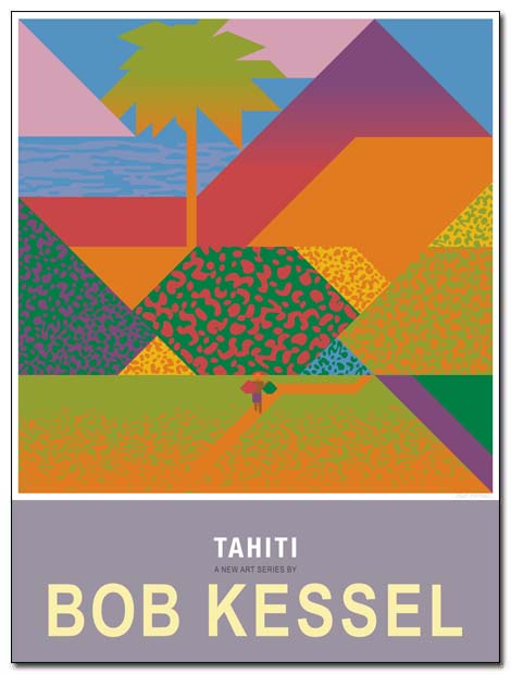 tahiti poster landscape2 by bobkessel