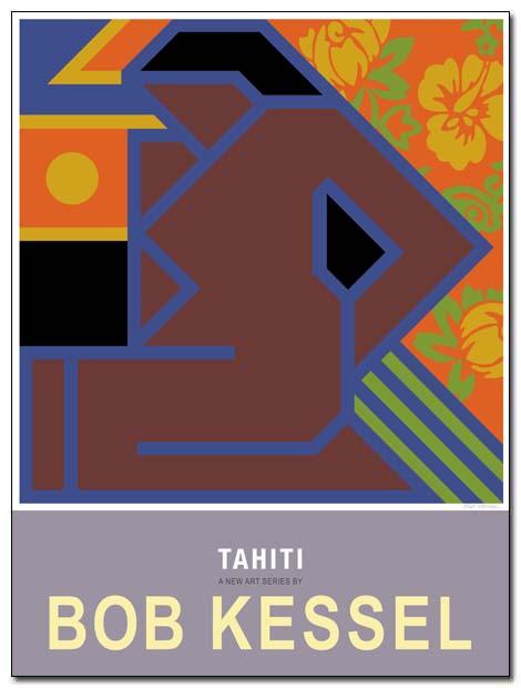 tahiti poster nude flowers by bobkessel